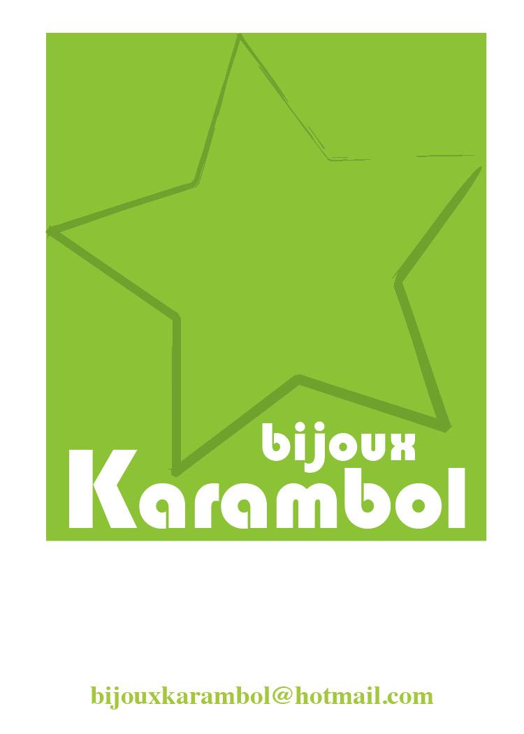 Carte De Visite Pour La Marque Karambole Cr Par Anne Da Cunha Guillegault